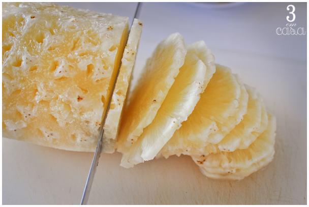 como fazer carpaccio abacaxi