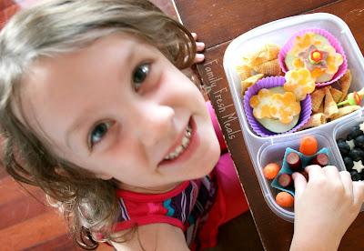 Easy Lunchbox Stars & Flowers School Lunch