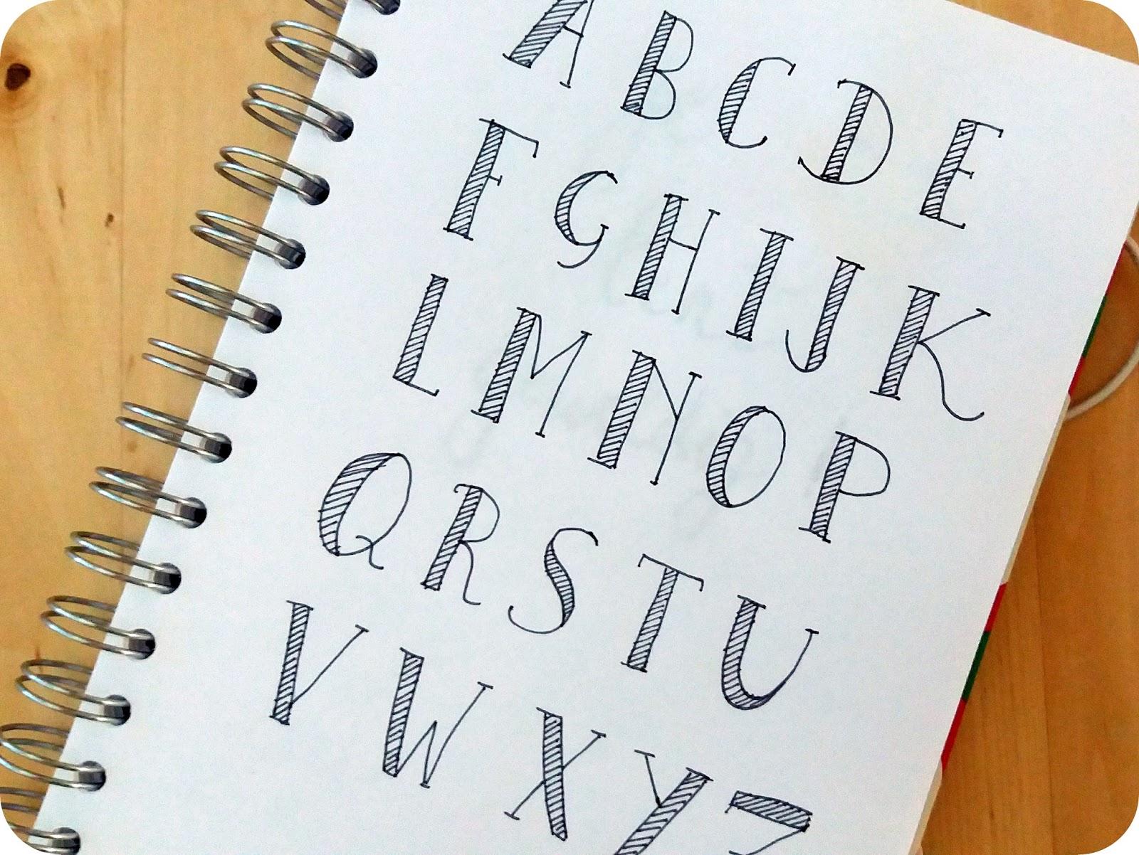 Bekend Tiene: Moderne Kalligrafie, de beginselen UF14