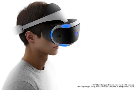 緊追三星、HTC,索尼VR裝置明年上市