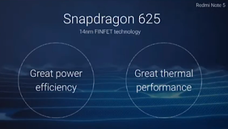 Xiaomi Redmi Note 5 Processer