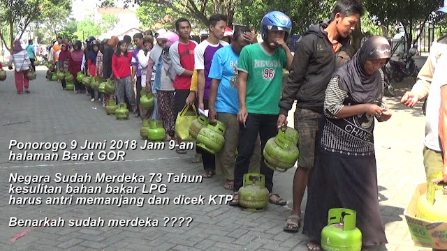 HIPMI Tanggapi Kelangkaan LPG Ponorogo