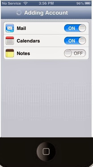 5(H)- Setup Gmail Calendar and Notes on iPhone