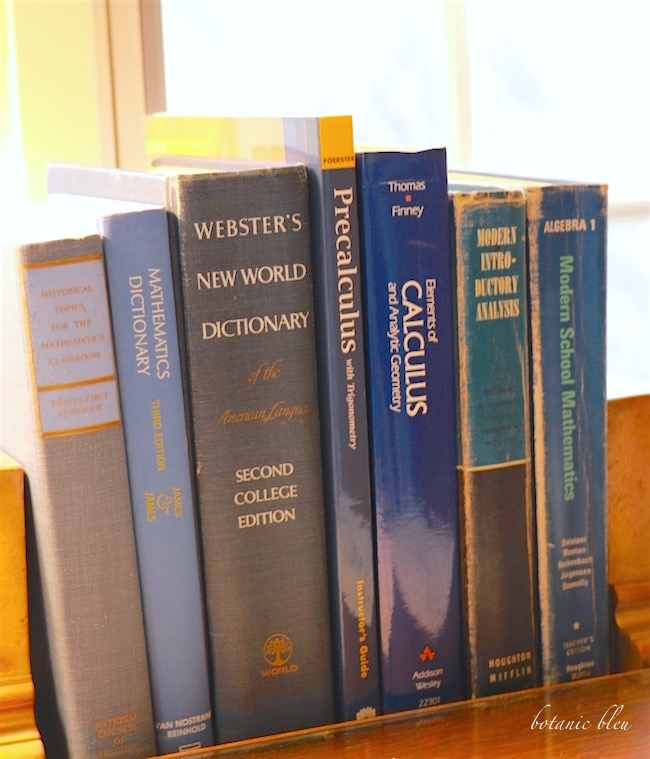 old-blue-math-textbooks