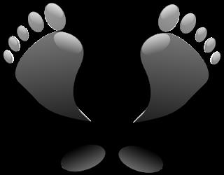 salep kaki pecah-pecah (ini hanya gambar ilustrasi telapak kaki)