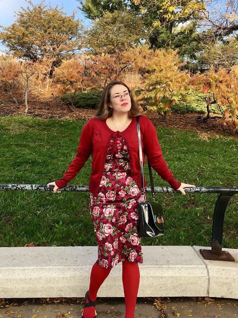 collectif bloom half sleeve dolores pencil dress