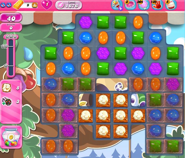 Candy Crush Saga 1676