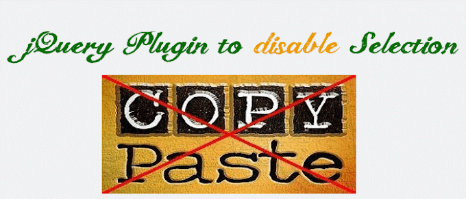 jQuery plugin helps you to prevent copy and paste