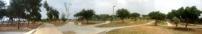 פארק החורשות - תמונה פנורמית