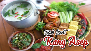 Stall Catering nasi liwet