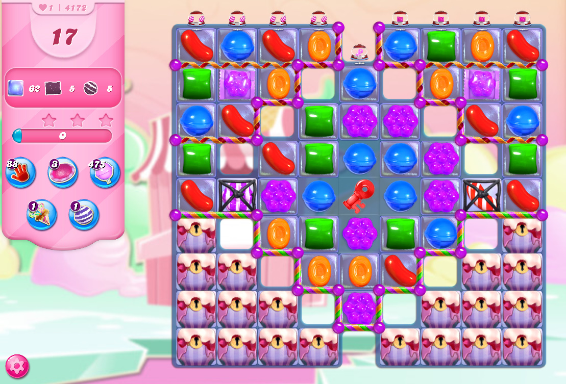 Candy Crush Saga level 4172