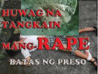 Huwag ka ng mang-rape..