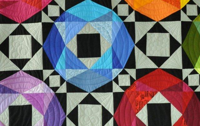 Storm art sea quilt