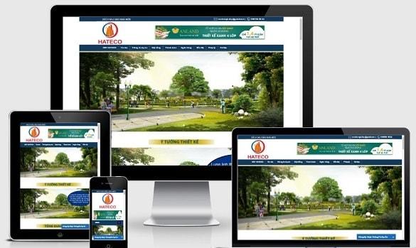 Template blogspot bất động sản 1 dự án chuẩn seo
