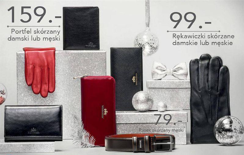 Wittchen w Lidlu -  portfele, rękawiczki i paski