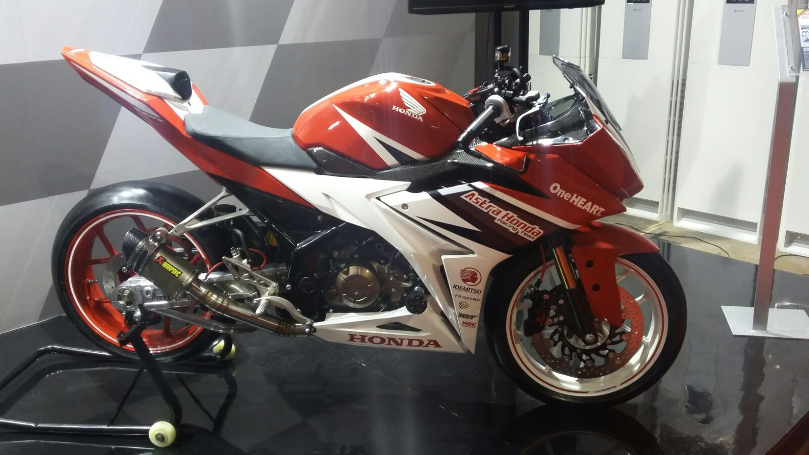 Modifikasi Cbr 2016  Modifikasi Motor 2017
