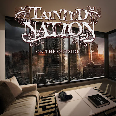 Tainted Nation - on the outside - cover album
