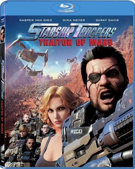 Starship Troopers: Traitor of Mars (Starship Troopers: Traidor de Marte) (2017) 720p y 1080p BDRip mkv Dual Audio AC3 5.1 ch