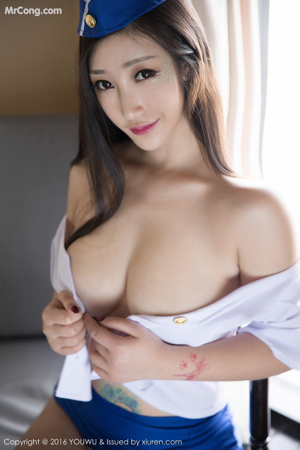 Image YouMi-Vol.239-Daji-Toxic-MrCong.com-042 in post YouMi Vol.239: Người mẫu Daji_Toxic (妲己_Toxic) (46 ảnh)