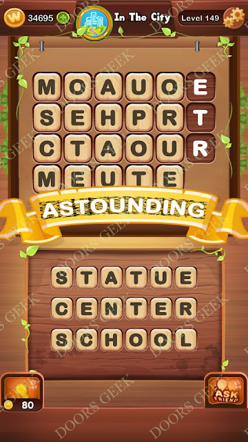 Word Bright Level 149 Answers, Cheats, Solutions, Walkthrough for android, iphone, ipad and ipod