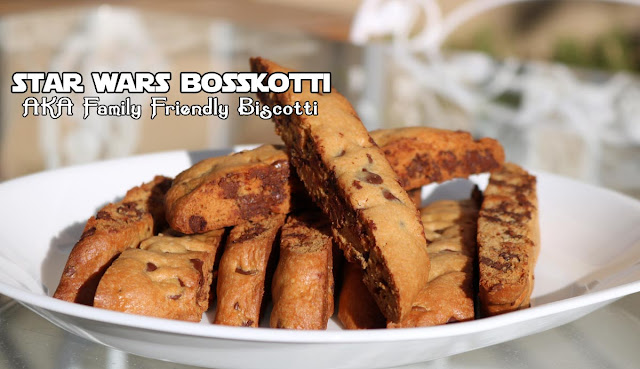 Star Wars Bosskotti Cookies - Chocolate Chip Biscotti Recipe