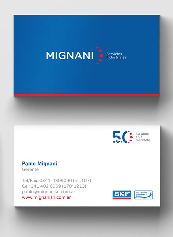 Inspirasi Desain Branding Identity - MIGNANI S.R.L. Branding