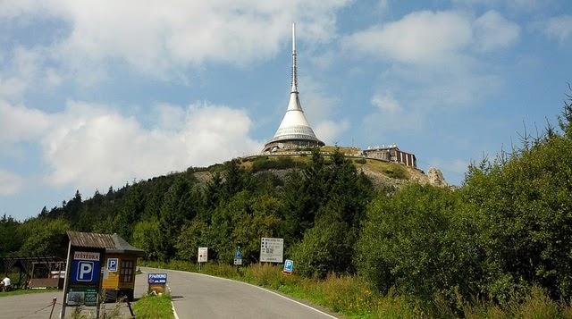 La Torre Jested en la República Checa