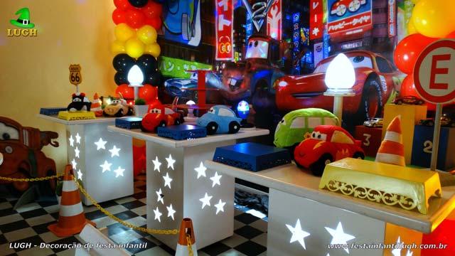 Ornamentação de aniversário Carros Disney
