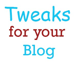 Two Minute Tweaks that Will Immediately Regenerate and Stimulate Your Blog : eAskme