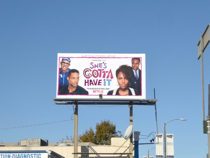 Shes Gotta Have It season 1 billboard
