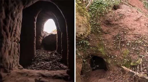 Fotógrafo investiga el interior de un pequeño agujero - y lo que encontró dentro te sorprenderá
