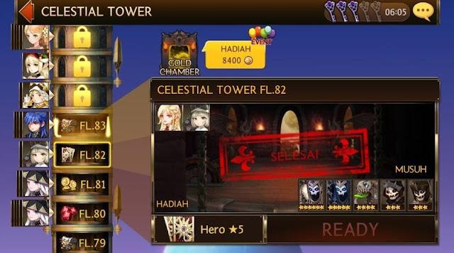 Hajar Terus Setiap Lantai/Floor Celestial Tower