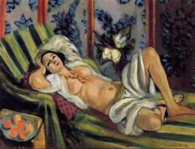 Henri Matisse, odalisca con le magnolie