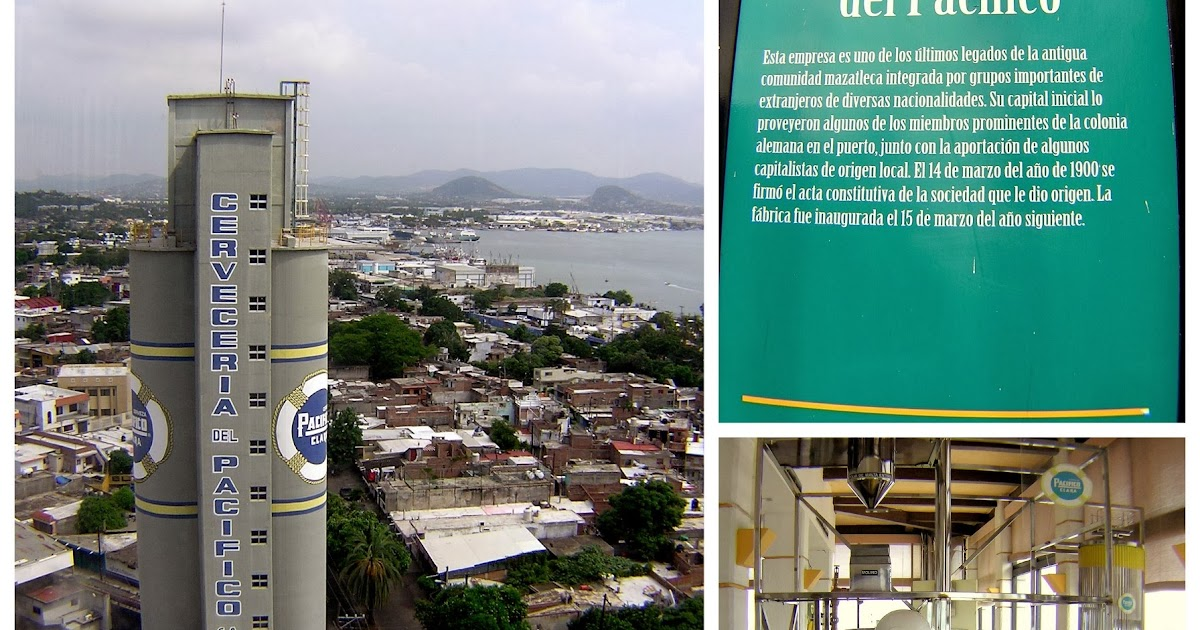 """Catadora en Alemania: Visita a """"Cervecería del Pacífico"""" en Mazatlán,  Sinaloa"""
