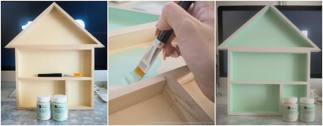 Crea y Decora con Chalk Paint: Casita de madera
