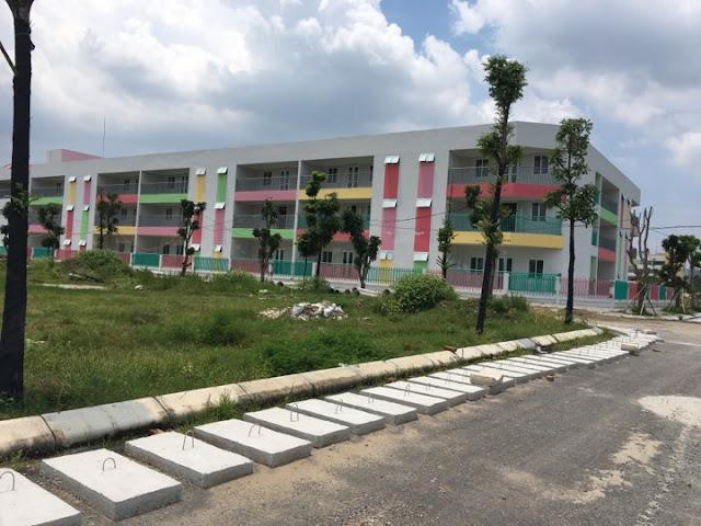 Hình ảnh thực tế trường mầm non chung cư Thanh Hà