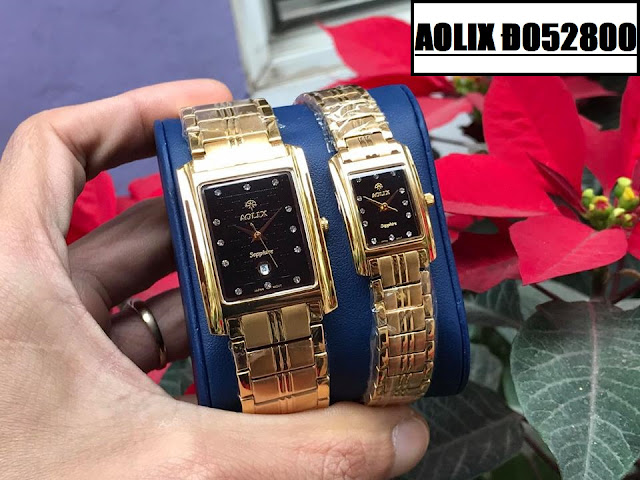 Đồng hồ cặp đôi Aolix Đ052800