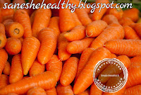 Carrots come in different colors and orange is common.