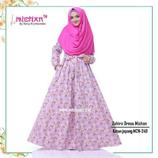 Gamis Michan Hijab Zahira Dress MCN 249