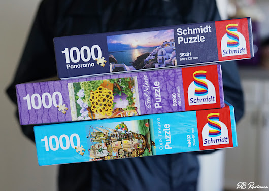 1000 Piece Schmidt Jigsaw Puzzles - Review and Giveaway