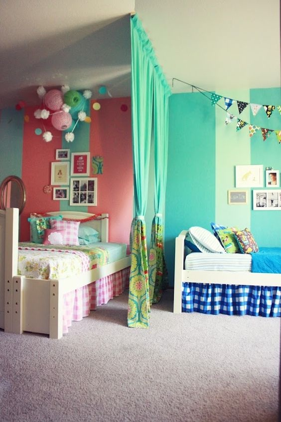 shared boy girl room
