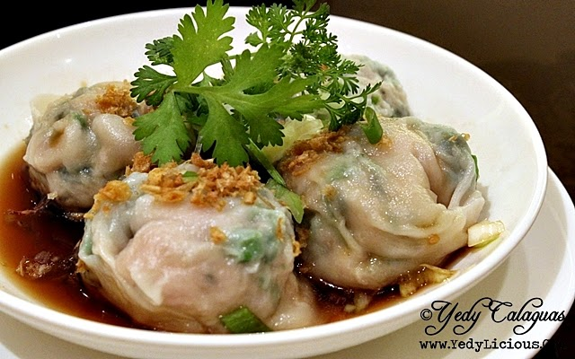 Watercress Dumpling Dimsum Eat-All-You-Can at The Phoenix Court of The Bellevue Manila