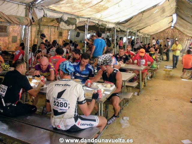 Comedor 101 km la legión Ronda 2012