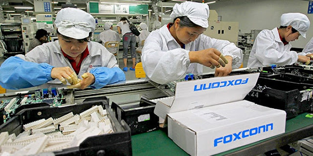 foxconn invested heavily in US