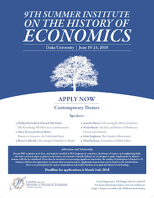 History of Econ Summer Camp