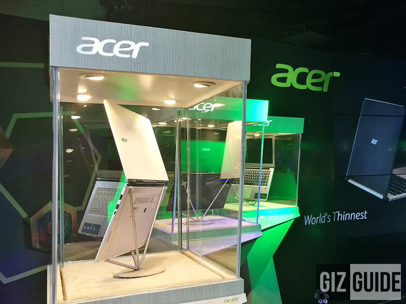 Acer Swift laptops in display!