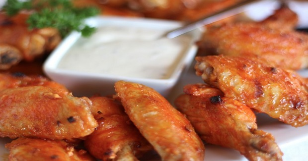 Chicken Wings W/ Hot Sticky Sauce Recipe