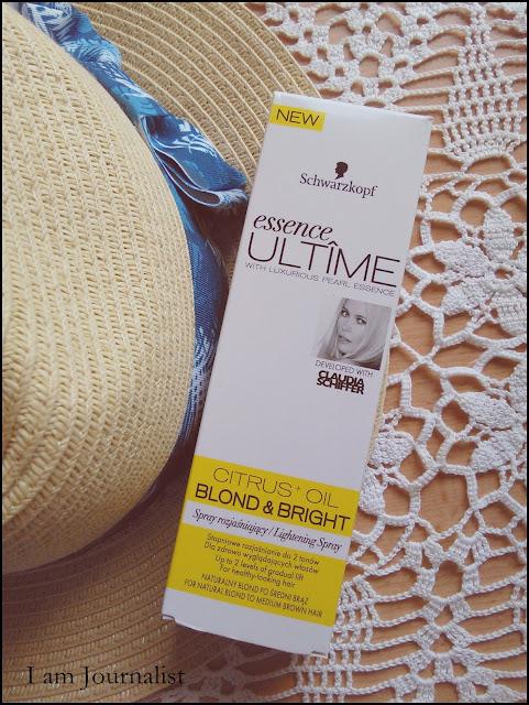 Coś dla Blondynek - Schwarzkopf essence ULTIME Blond&Bright Spray rozjaśniający