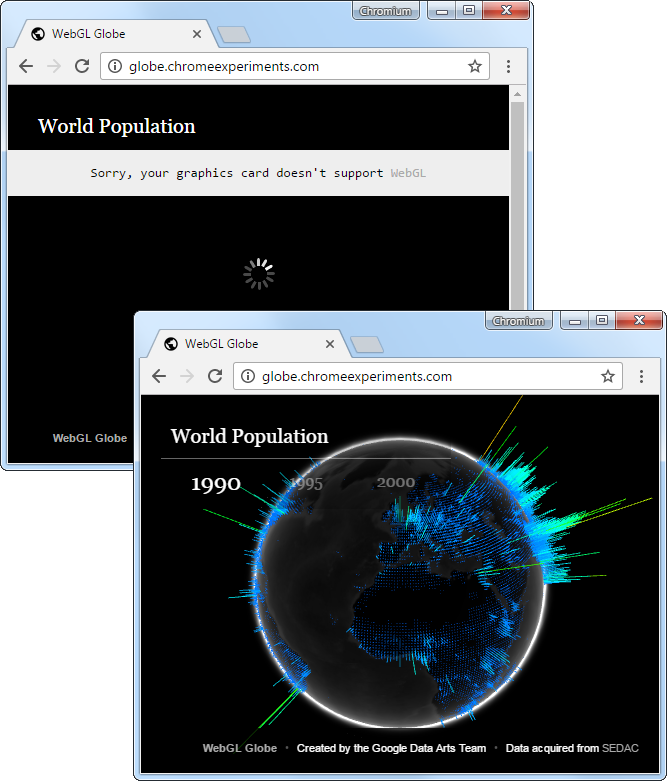 Screenshots - Chromium Browser