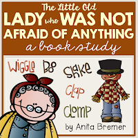 Book activities to go with The Little Old Lady Who Was Not Afraid Of Anything